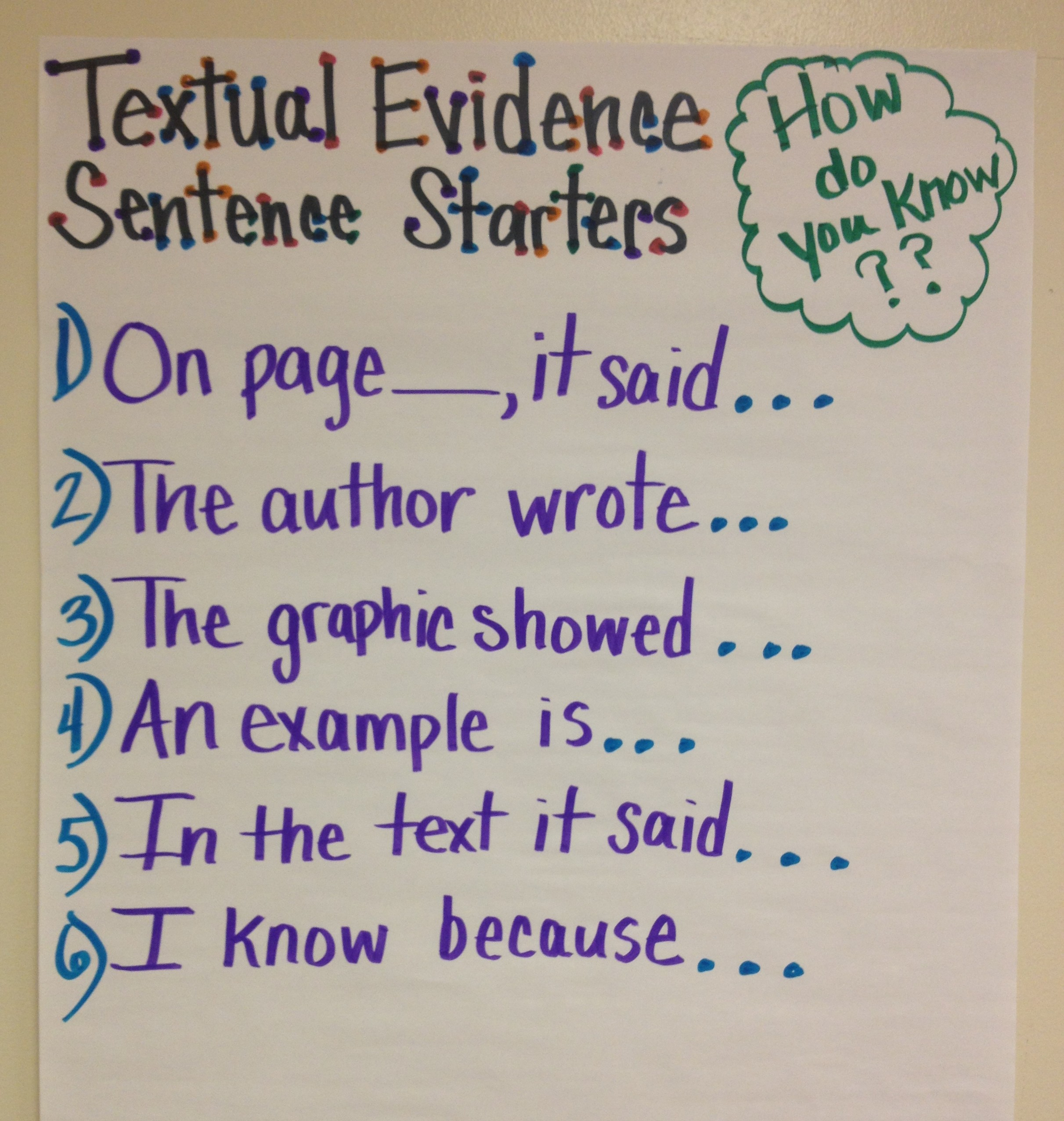 Textual-Evidence
